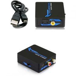 Top konwerter TOSLINK koncentryczny wyjście analogowe + słuchawki 30505052