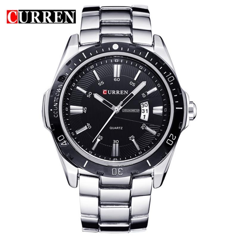 2019 NEW Curren Watches Men Top Brand Fashion Watch Quartz Watch Male Relogio Masculino Men Army Sports Analog Casual Watch
