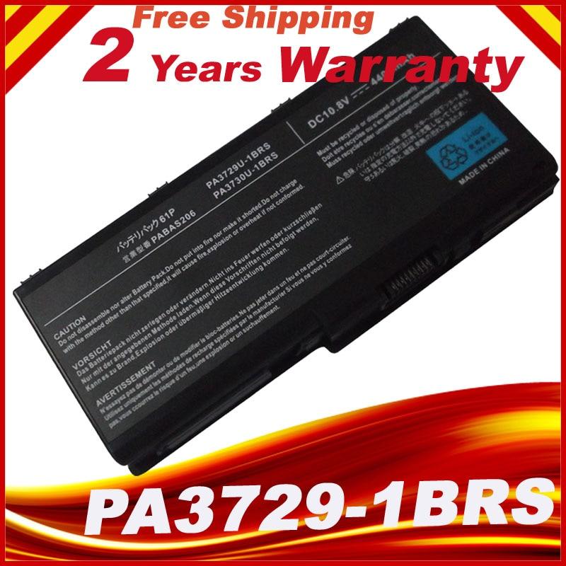 Laptop Batteries For TOSHIBA Satellite P500 PA3730U-1BRS PA3729U-1BRS PA3730U-1BAS P505D-S8930 Qosmio X505-Q870 10.8V