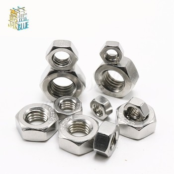 3000pcs kfse 143 4 8 12 16 20 24 28 32 broaching standoffs stainless steel nature pem standard in stock factory wholesales 50pcs/lot Stainless steel hex nut Inch Thread UNC hex nut 2#-56 4#-40 6#-32 8#-32 10#-24 1/4-20 5/16-18 3/8-16 7/16-14 1/2-13