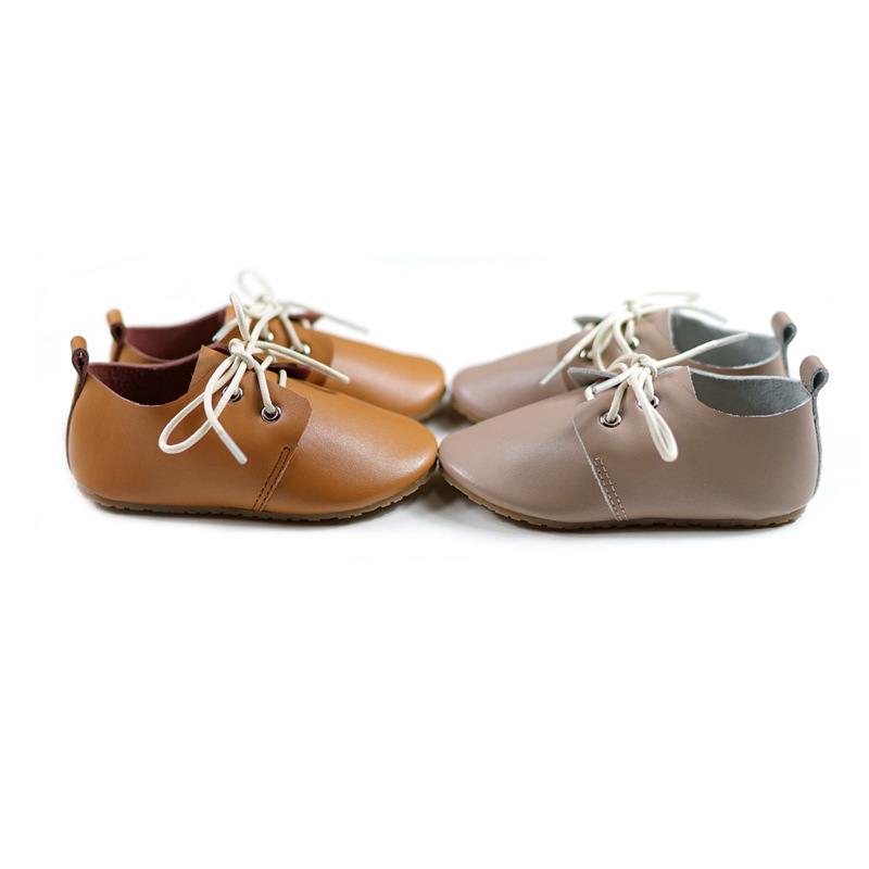 British Style Children's Casual Shoes Genuine Leather Boys School Shoes Spring Autumn Baby Girls Loafers Shoes