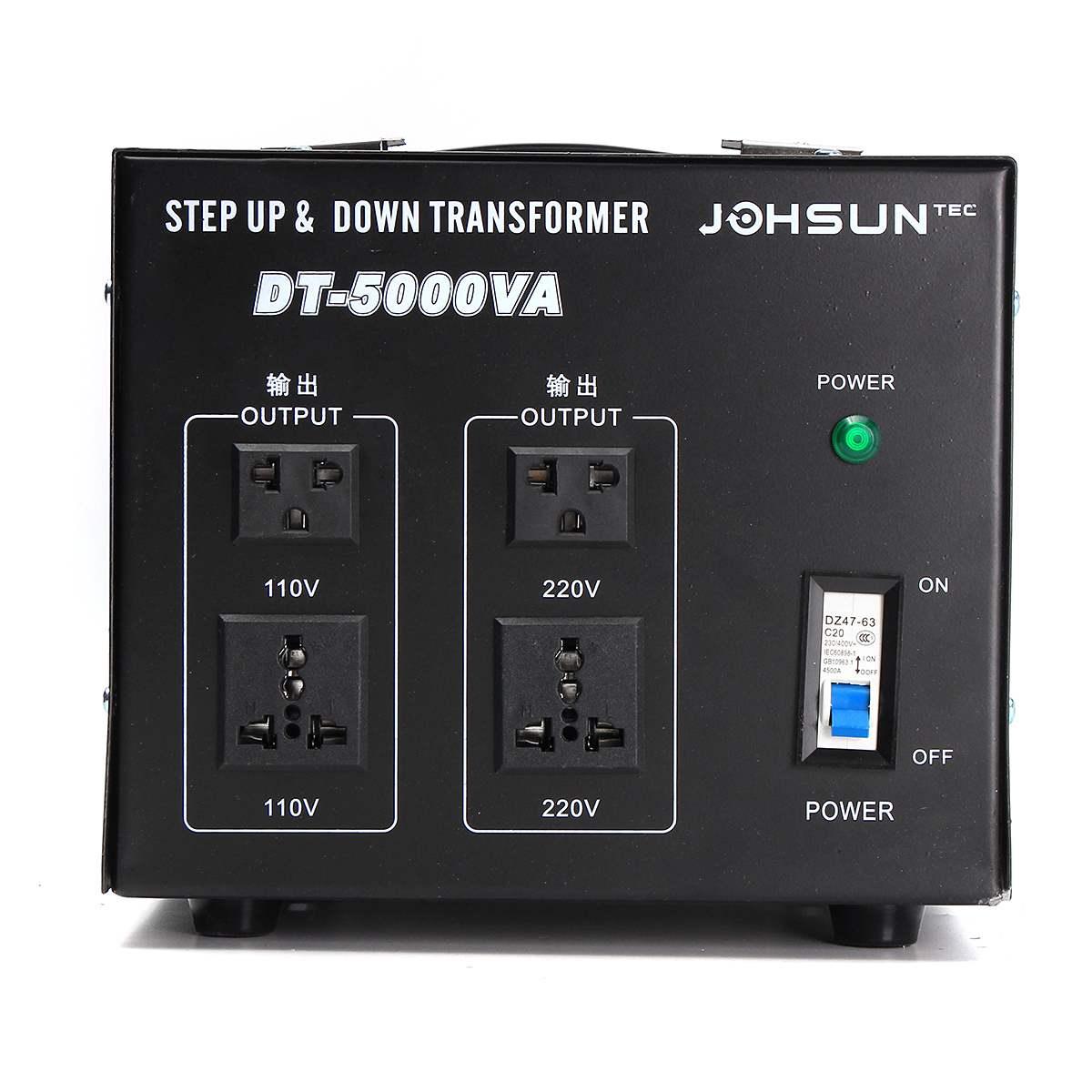 500/1000/2000/3000/5000 W convertisseur de tension lourde transformateur de puissance 220 V auf 110 V convertisseur - 3