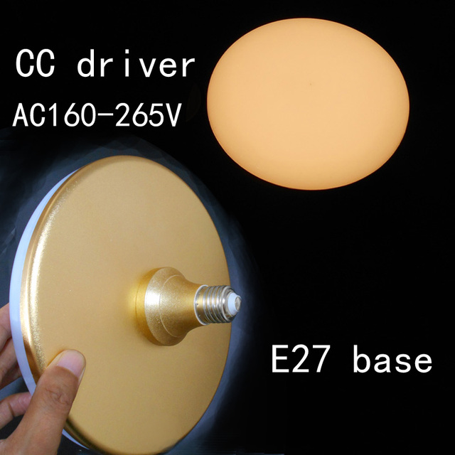 real power UFO e27 LED Bulb Light 11 12W 17W 30W 32W 35W 37W Aluminum LED Lamp E27 220v 230v 240v Lampara Ampoule Lampada