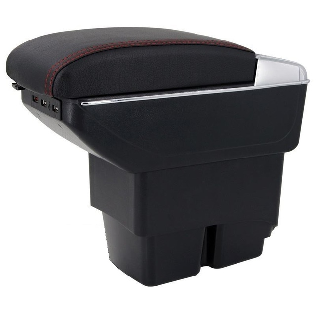 Automovil Arm Rest Car Car-styling Modified Interior protector Upgraded Styling Armrest Box 09 10 11 12 13 14 15 FOR Ford Fiesta