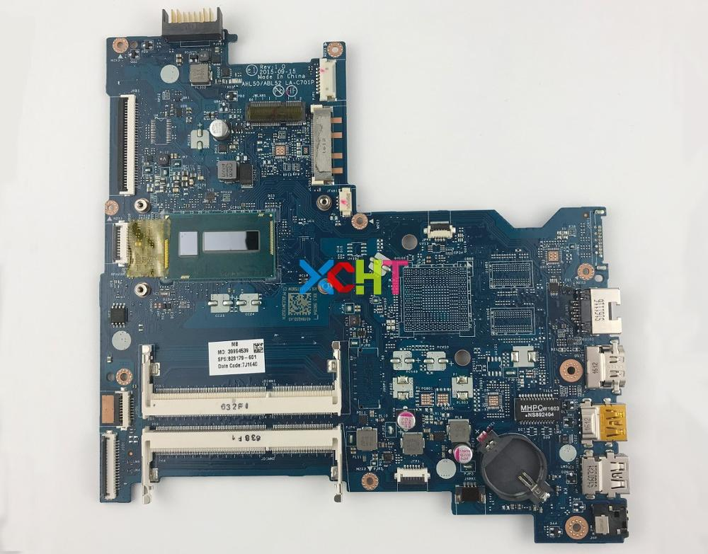 828179 601 828179 501 828179 001 UMA I3 5005U LA C701P For HP 15 AC Series 15T AC100 Laptop Motherboard Mainboard Tested