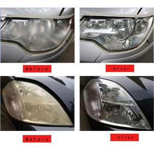 Image 5 - 1 Pcs 50ML Car Polish Car Lamp Restoration Kit Headlight Agent Brightening Headlight Repair Lamp Renovation Agent Paint Care