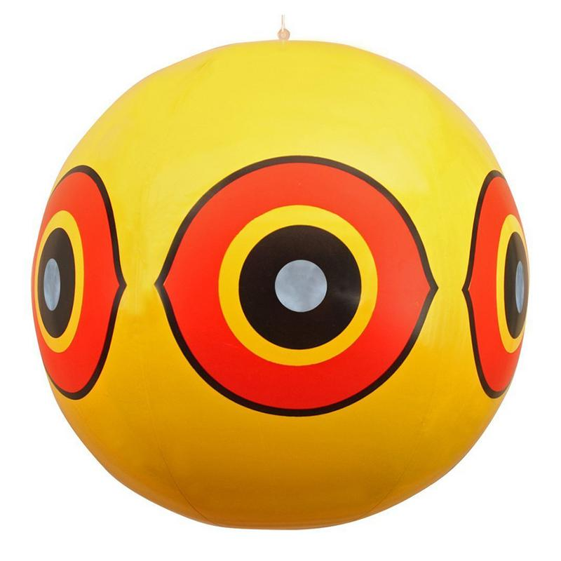 Bird Repellent Scare Eye Balloons Stops Pest Bird Problems Fast Reliable Visual Deterrent Home Supplies