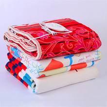 Электрическое одеяло из нетканого материала, электрическое нагревательное одеяло с одним/двойным подогревом, одеяло 220 В, Регулируемый Электрический ковер с подогревом