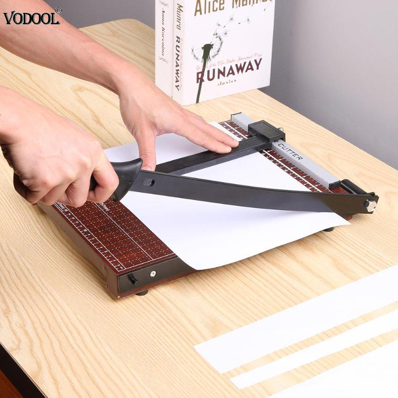 Professional A4/A5 Card Trimmer Guillotine Photo Cutter Office Paper Cutting Tool Photo Studio