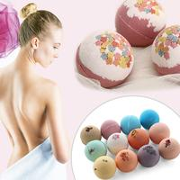12 PCS Bath Salt Ball Bubble Bathing Ball With Pleasant Flavor Soften Cuticle Relieve Fatigue Skin Moisturizing For Traveling