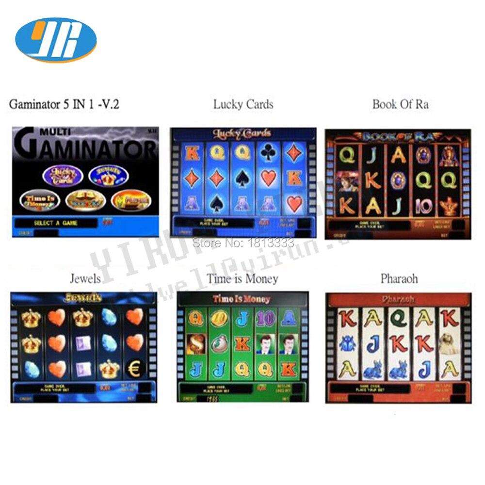 Gaminator 5 in 1 V2 game board red pcb board Casino game machine motherboard slot game