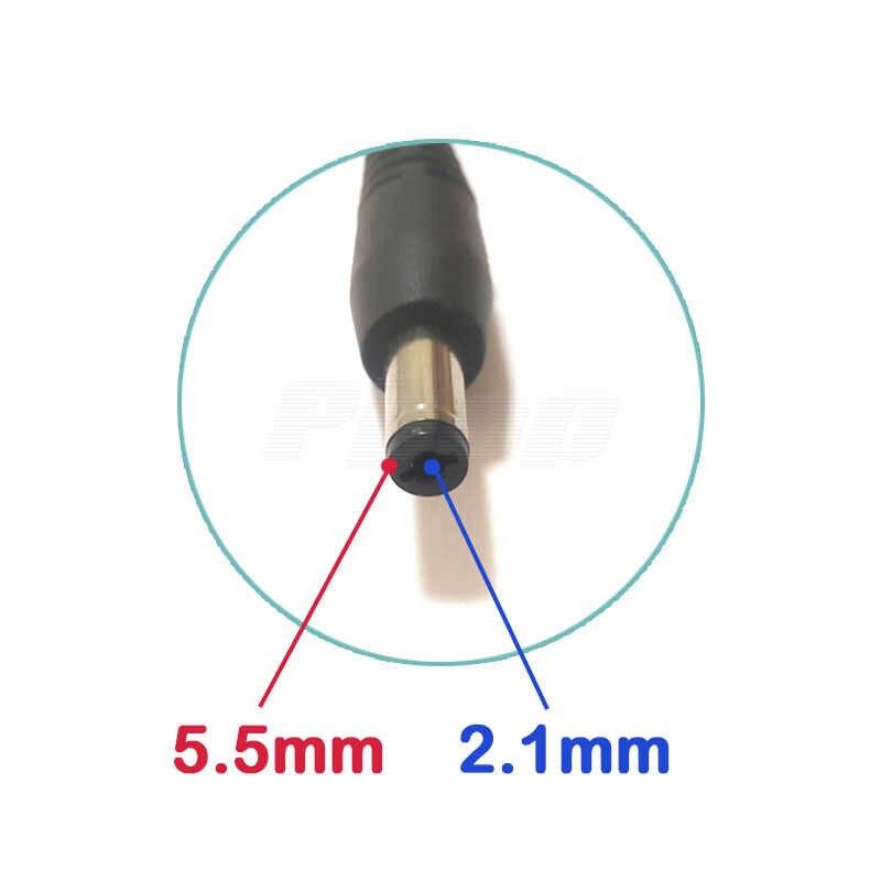 DC 5 V 12 V Jack 5.5 Mm X 2.1 Mm 1.5 M 3A Kabel USB 2.0 Multi Charger konektor Kabel untuk MP4 Leadstar D12 D10 Lampu Meja