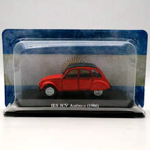 IXO Altaya 1:43 Citroen IES 3CV America 1986 Diecast Models Toys Car Collection Gifts(China)