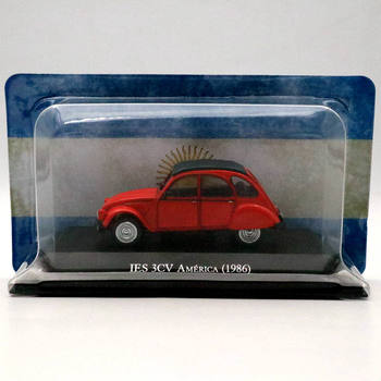 IXO Altaya 1:43 Citroen IES 3CV America 1986 Diecast Models Toys Car Collection Gifts image