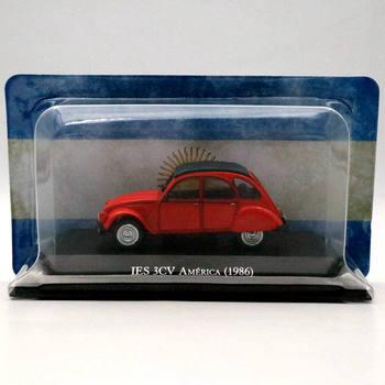 IXO Altaya 1:43 Citroen IES 3CV ameryka 1986 Diecast modele samochodzik dla dziecka kolekcja prezenty