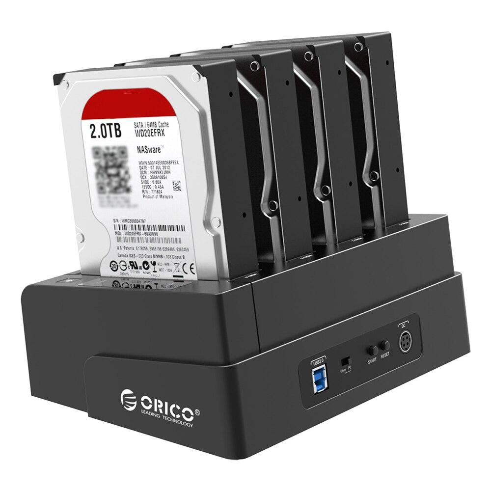 ORICO 6648US3 4-Bay HDD Station D'accueil USB 3.0 2.5/3.5 pouce SATA Externe Disque Dur Dock Off -ligne Clone Station D'accueil