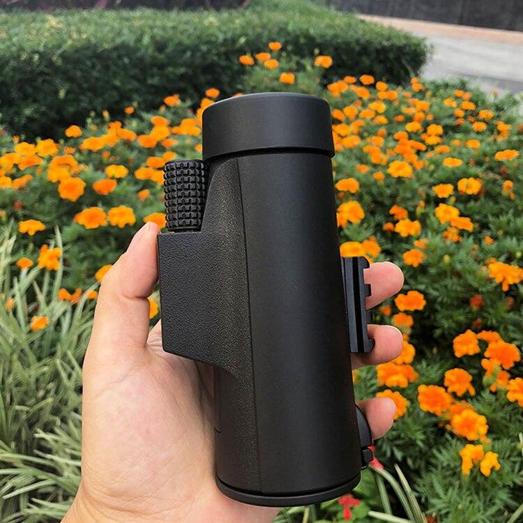 Connectez votre téléphone mobile pour prendre des photos télescope 8x42 équipement extérieur FMC revêtement unique tube oiseau-observation miroir poche