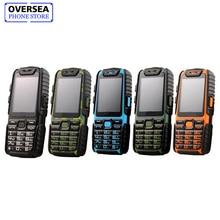 Guophone A6 Waterproof Power Bank Mobile Phone Dual Sim 2.4″ Flashlight 9800mAh Battrey CellPhone Russian Keyboard Light Phone