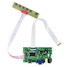 """H DMI VGA LCD Controller Boardสำหรับ11.6 """"13.3"""" 14 """"15.6"""" N116BGE EA2 B133XTN01.2 B140XTN02.1 B156XTN04.0 1366X768 EDPหน้าจอLCD"""