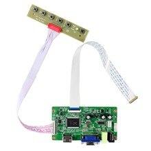 """H DMI VGA placa controladora LCD para 11,6 """"13,3"""" 14 """"15,6"""" N116BGE EA2 B133XTN01.2 B140XTN02.1 B156XTN04.0 1366x768 EDP pantalla LCD"""
