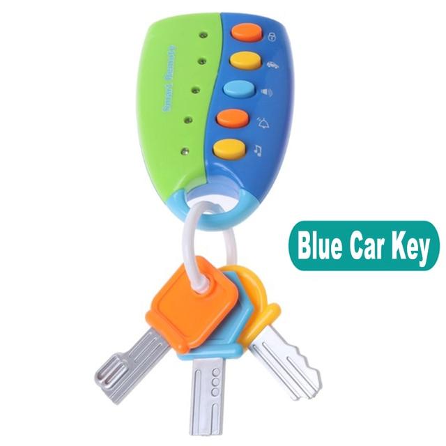 Téléphone télécommande Jouet Mobile TV  voiture clé début jouets éducatifs numéros électriques apprentissage Machine cadeaux pour nouveau-né 6