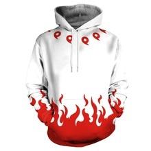 Anime Cosplay Naruto Hoodies Winter Pullovers 3D Hooded Sweatshirts Men Top Costumes Accessories Unisex