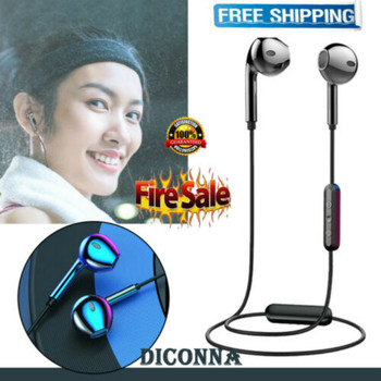 Bluetooth 4.2 Stereo Earphone Headset Wireless Earbuds Headphone Universal Sport