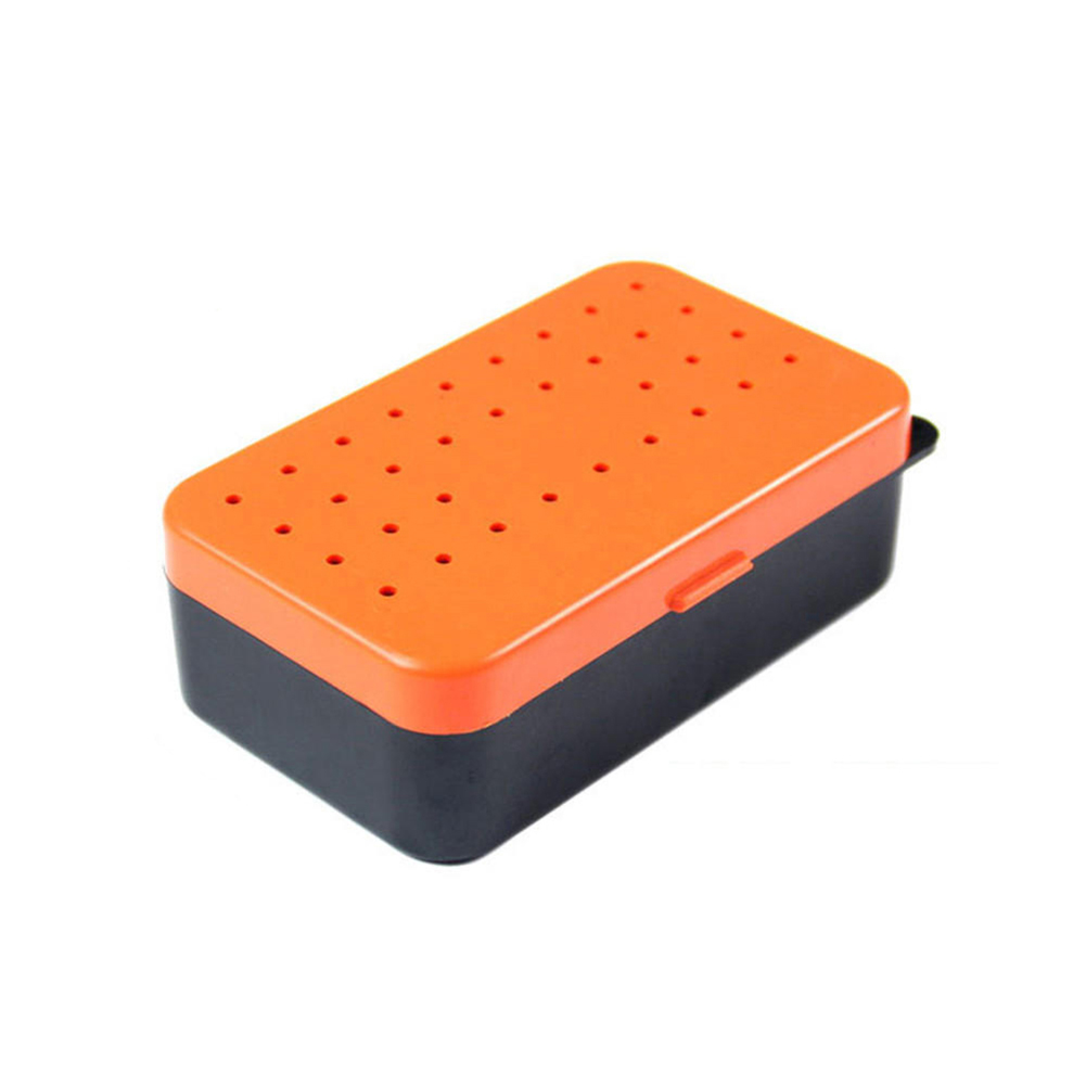 Image 2 - New Portable Earthworm Red Worm Fishing Bait Tackle Alive Lure Storage Case Box-in Fishing Tackle Boxes from Sports & Entertainment