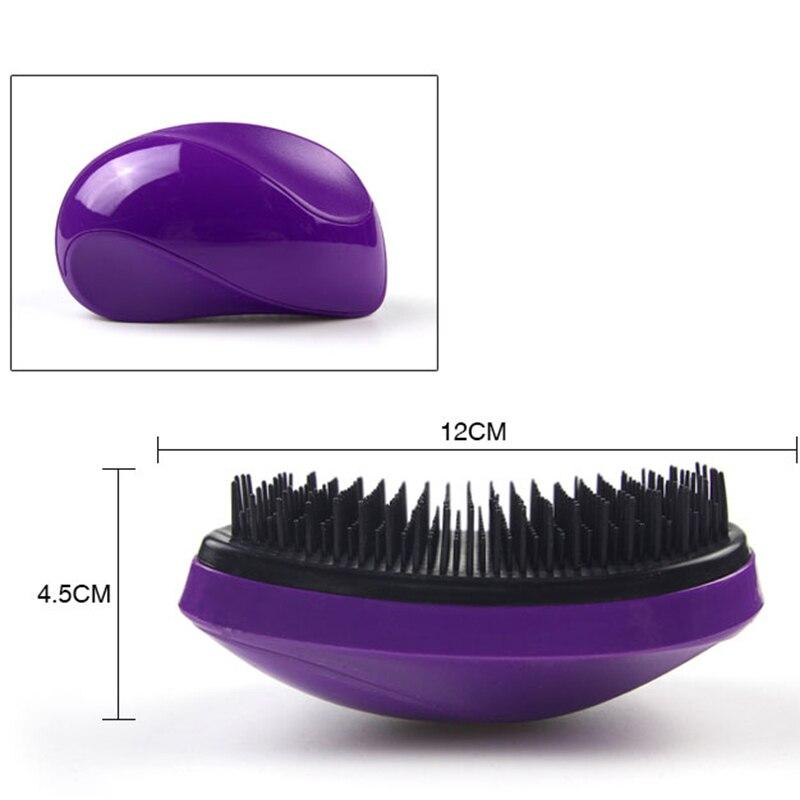 Купить с кэшбэком RORASA Tangled Hair Brush Mouse Type Anti-Static Magic Hair Comb Portable Hair Styling Salon Beauty Tools Detangling Hairbrush