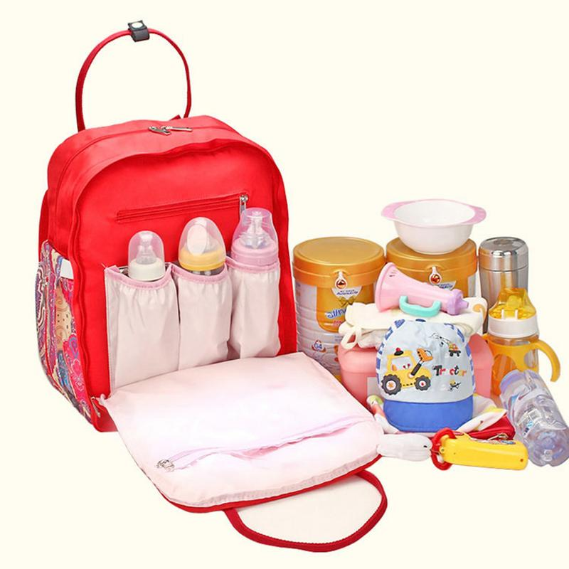 Large Capacity Mummy Maternity Nappy bag Protable baby Diaper Bag infant nursing Stroller Handbag baby nappy bag Baby Care все цены