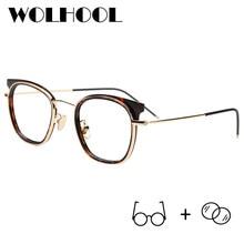 0556bc605 Moda Óculos de Armação de óculos Mulheres Olho de Gato Óculos de Miopia  Vidros Ópticos Senhoras Óculos Óculos de Prescrição