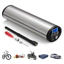 150psi mini inflator carro elétrico portátil bicicleta bomba de carro elétrico compressor de ar automático da bomba da bicicleta plugue da ue ferramenta do carro