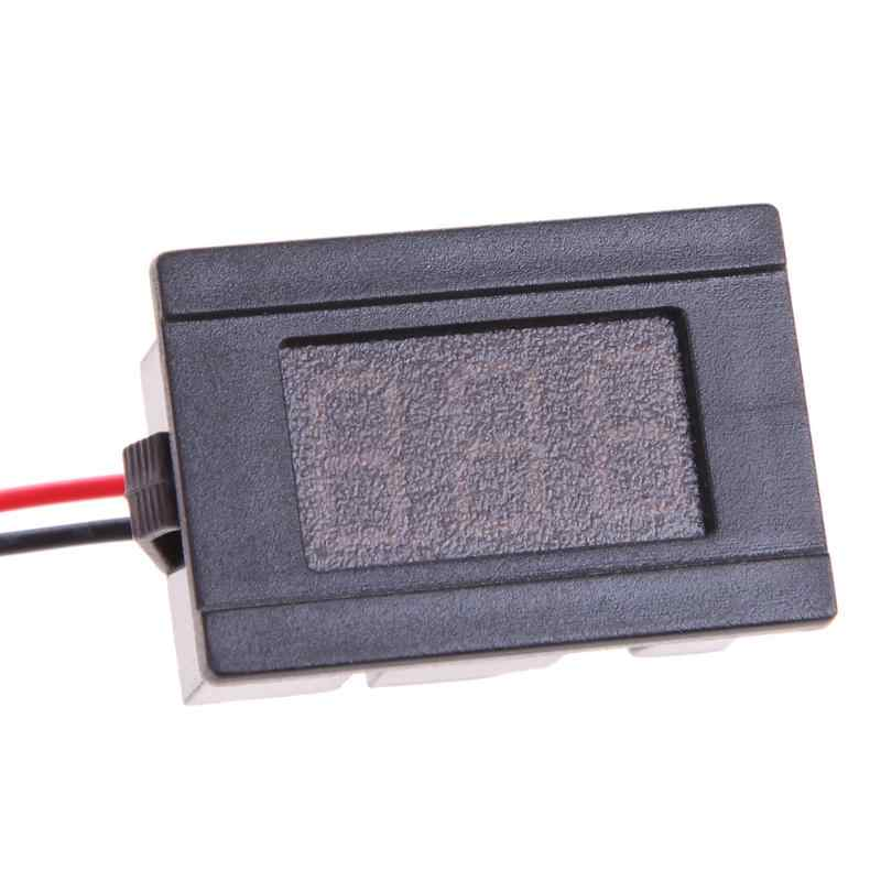"""Voltmètre automatique 0.36 """"rouge DC4.5-120V LED panneau d'affichage numérique de voiture voltmètre voltmètre Auto pour moto Automobile 36 V 48 V"""