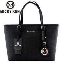 Micky Ken Brand New 2018 Women Handbags Big Pu Leather High Quality Letter Female Bag Designer Bolsos Mujer Sac A Main Totes