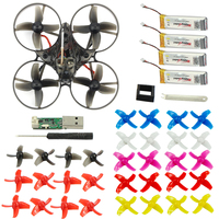 Mobula7 75mm Wheelbase 2S Brushless BWhoop FPV Racing Drone Motor Body Shell Transmitter Battery Kids Toys 10 pair prop for Gift