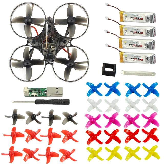 Mobula7 75mm Wielbasis 2 S Borstelloze BWhoop FPV Racing Drone Motor Body Shell Zender Batterij Kinderen Speelgoed 10 paar prop voor Gift