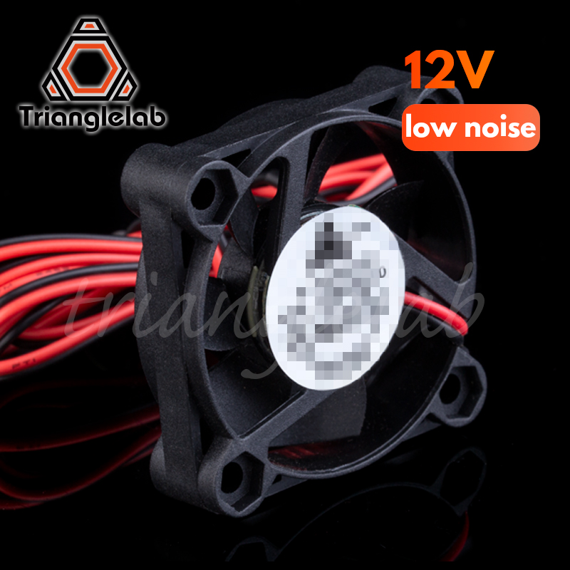Trianglelab 3D Printer Part DC 12V/24V 2P 4010 40*40*10mm Brushless Fan Cooler  4010s Cooling Fan With 100mm Cable