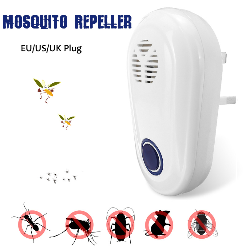 Image 2 - Ultrasonic Pest Repeller Insect Repellent Anti Moles Mosquito Killer Mouse Cockroach Rat Home Living Room With Night Light-in Repellents from Home & Garden
