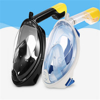 New Solid Anti Fog Full Face Mask Swimming Breath Diving Goggle Snorkel Scuba For GoPro US