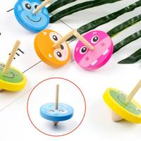Wood Gyro Kids Toys Relief Stress Desktop Spinning Top Toys Birthday Gifts