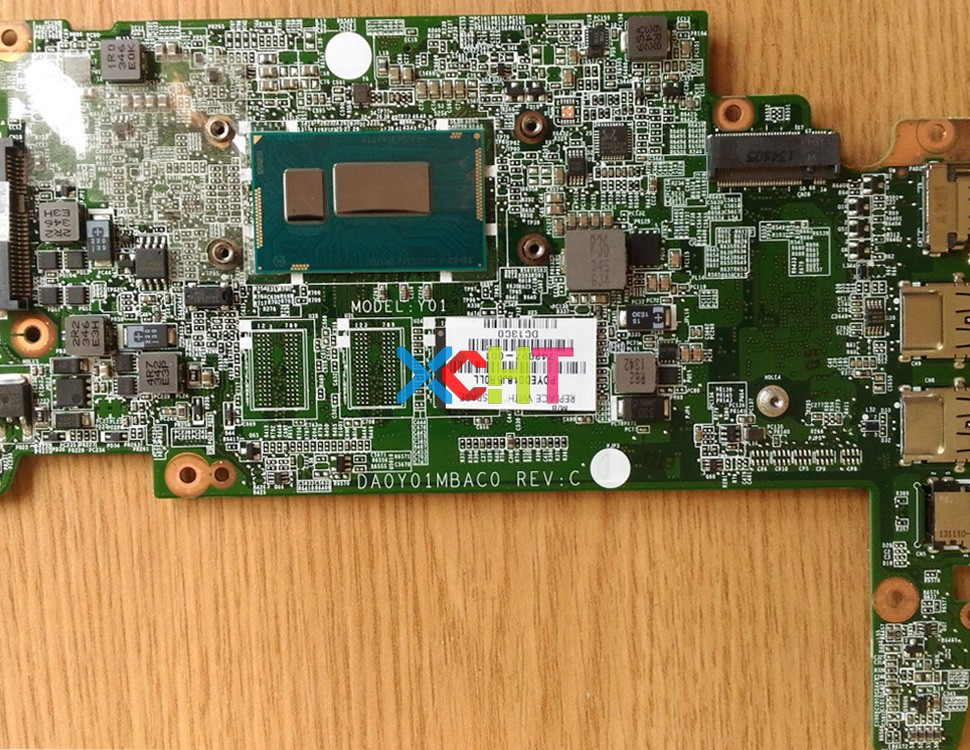 742097 001 w 2955U CPU DA0Y01MBAC0 for HP Chromebook 14 14 Q Series G1 UMA Laptop Motherboard Tested-in Laptop Motherboard from Computer & Office