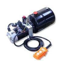 Óleo hidráulico de lubrificação 0.75kw da bomba hidráulica do óleo da bomba da bateria da c.c. 12v24v
