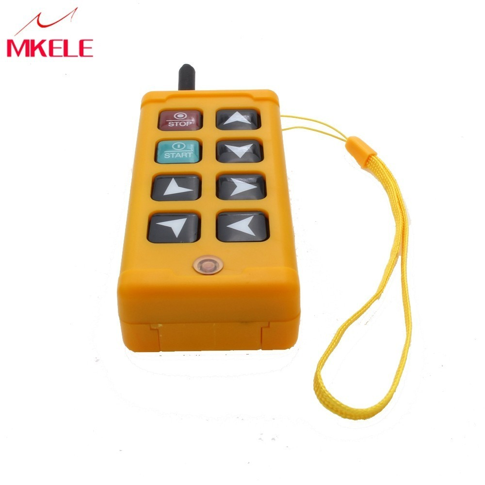 8 touches grue industrielle Radio sans fil télécommande interrupteur sans fil LTS-8 (DC 12 V) grue 1 récepteur + 1 émetteur