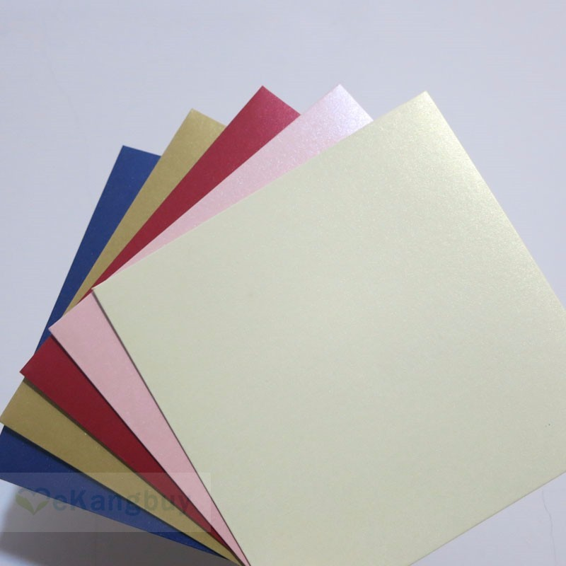 Image 2 - 25pcs 158x158mm(6.1x6.1inch) 250g Pearl Color Envelope Wedding Invitation Envelope-in Paper Envelopes from Office & School Supplies