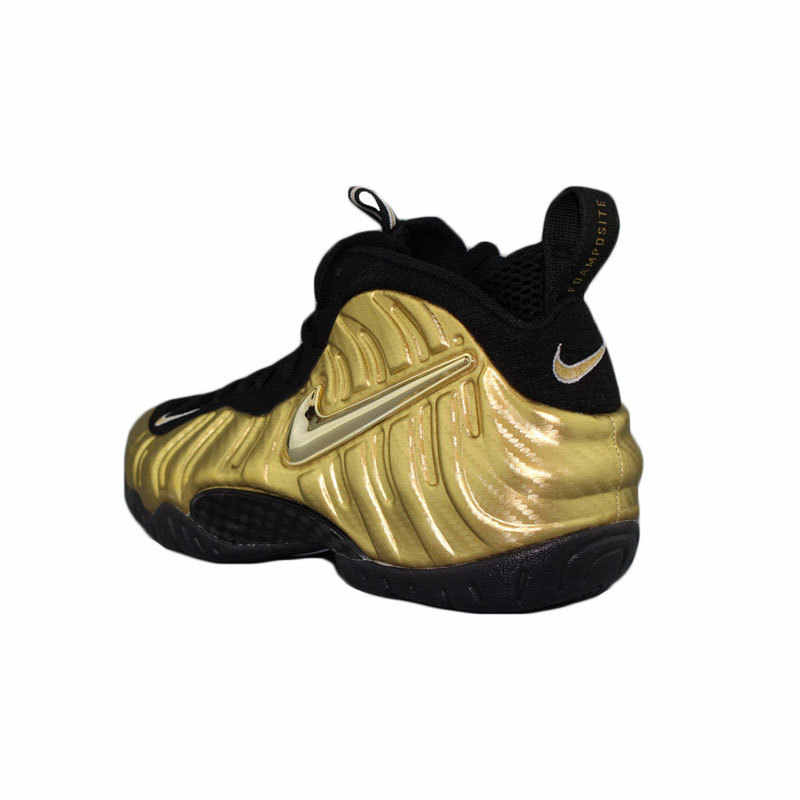 cheaper 97eb6 05bbb Nike Air Foamposite Pro Gold Bubble New Arrival Men Basketball Shoes Motion  Leisure Time Outdoor Sports Sneakers #624041-701