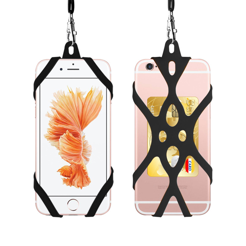 Phone Lanyard Holder Case Cover Universal Silicone Cell Phone Neck Strap Necklace Sling For Smart Mobile Phone Lanyard For Phone