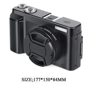 Image 3 - Micro Macchina Fotografica, videocamera digitale Hd 1080P 24Mp Display Tft Da 3.0 Pollici 16X Zoom Digital Video Camera Dv Camcorder Mini Dslr Dc101 (E