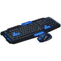 Hk8100 2,4G Беспроводная игровая клавиатура мышь комбо Эргономика водонепроницаемый Оптический для ПК ноутбука настольного геймера
