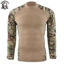 US Army Military Uniform Hunting Tactical T Shirt Long Sleeve Cotton Generation III Combat Frog Shirt Men Training Camo Shirts брюки tactical frog tactical frog mp002xm0qru2
