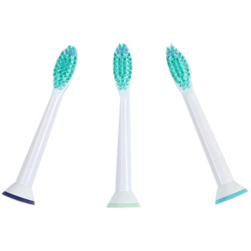 LICE 3Pcs/Lot Replacement Toothbrush Heads For Philips Sonicare Proresults Hx6013 image